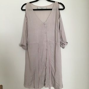 Something Else light summer dress with buttons